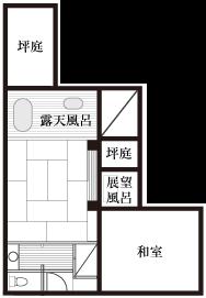 特別室 間取り図
